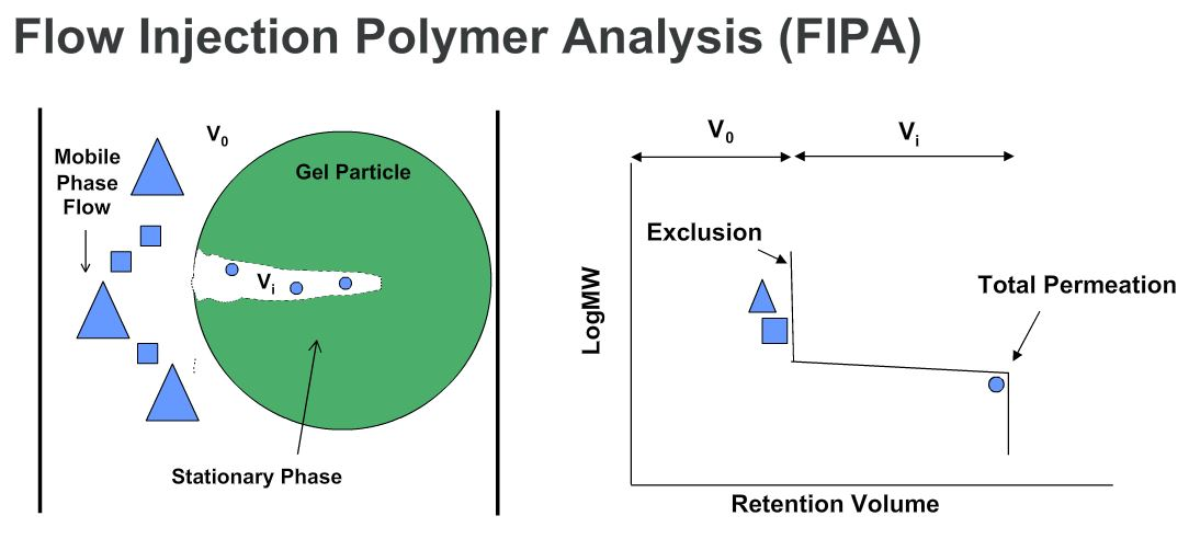in FIPA the column pores are only accessible to the solvent, link will take you directly to the slide on FIPA in the webinar