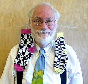 Dr Alan Rawle Sock Earrings