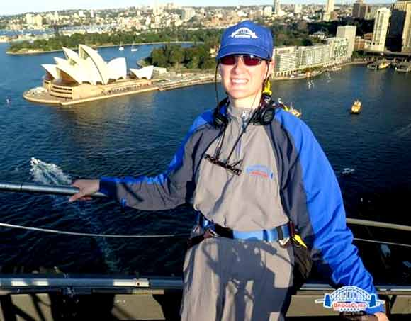Debbie Huck-Jones Sydney Harbour Bridge