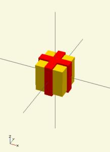 3D printed present
