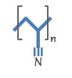 Polyacrylnitrile-chemical-symbol