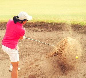 golf particle size