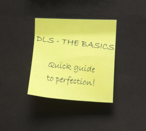 Sticky Note - DLS The Basics - Quick Guide To Perfection!