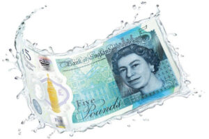 The new fiver note Mod