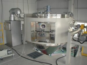 Figure 7 - spray-drying equipment, typically used in variety of industries, including food, pharmaceuticals, and ceramics