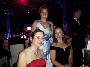 Rebecca Bennett, Natalie Chatley and Alison Findlay (HR team)