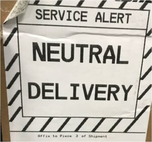 Service-alert-neutral-delivery-through-customs-to-speed-through-customs