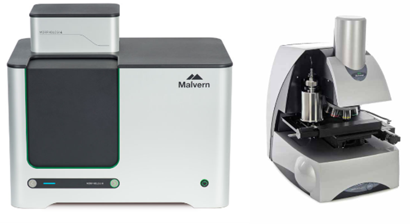 Morphologi 4 (Left) and Morphologi G3 (Right)
