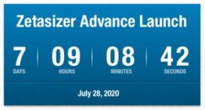 Zetasizer Advance Series Countdown to Launch - until 28July2020
