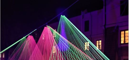 photo of laser light show - how important is zetasizer laser safety - what do we need to consider