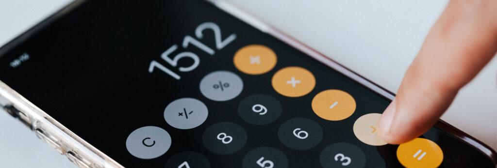 Calculator - Photo by Karolina Grabowska from Pexels